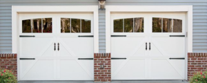 What is a carriage style garage door?